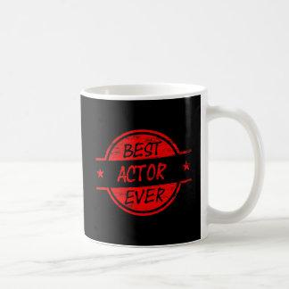最も最高のな俳優Red.png コーヒーマグカップ