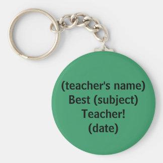 最も最高のな先生! - keychain キーホルダー