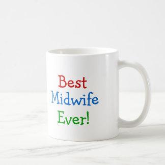 最も最高のな助産婦 コーヒーマグカップ