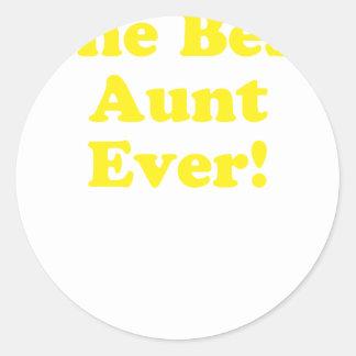最も最高のな叔母さん ラウンドシール