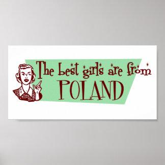 最も最高のな女の子はポーランドからあります ポスター