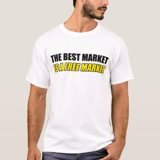 最も最高のな市場はフリーマーケットのTシャツです Tシャツ