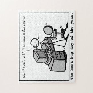 最も最高のな抱擁日のパズル ジグソーパズル