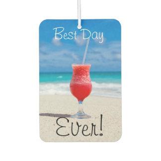 最も最高のな日のビーチ カーエアーフレッシュナー