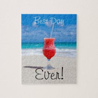最も最高のな日のビーチ ジグソーパズル