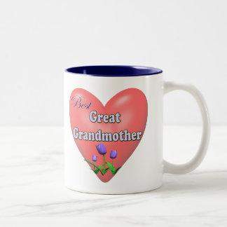 最も最高のな曾祖母の母の日のギフト ツートーンマグカップ
