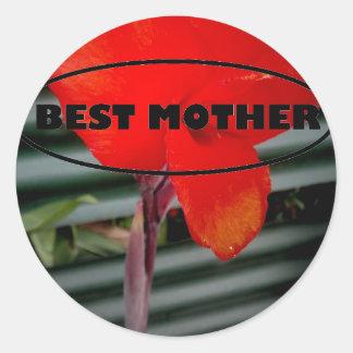 最も最高のな母ギフト ラウンドシール