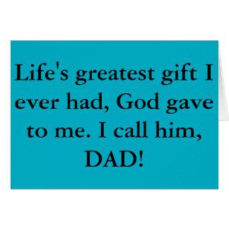 最も最高のな父の日カード! カード