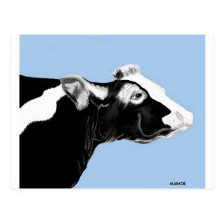 最も最高のな牛!!! ポストカード