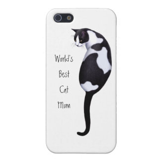 最も最高のな猫のお母さんのカスタマイズ可能なiPhoneの場合 iPhone 5 ケース