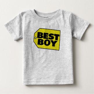 最も最高のな男の子 ベビーTシャツ