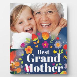 最も最高のな祖母 フォトプラーク