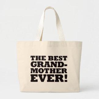 最も最高のな祖母 ラージトートバッグ