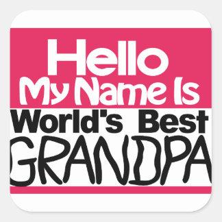 最も最高のな祖父 スクエアシール