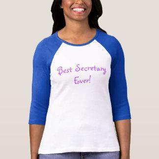 最も最高のな秘書! Tシャツ