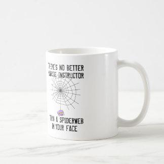 最も最高のな空手のインストラクターはあなたの顔のSpiderwebです コーヒーマグカップ