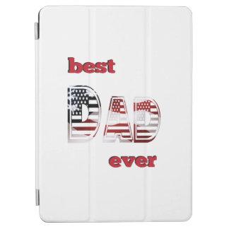 最も最高のな米国のパパ iPad AIR カバー
