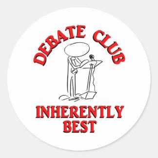 最も最高のな討論クラブ本来 ラウンドシール