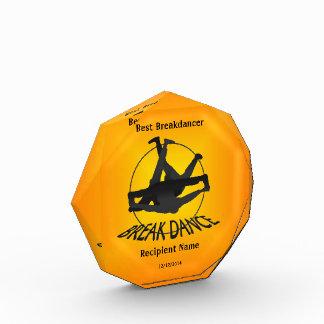 最も最高のなBreakdancerの金ゴールド賞 表彰盾