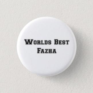 最も最高のなFazha Pinの白 3.2cm 丸型バッジ