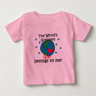 最も最高のなGigiは私に属します ベビーTシャツ