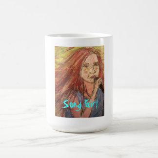 最も涼しいロッカーの歌の女の子 コーヒーマグカップ