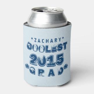 最も涼しい卒業生年のグランジな文字B07 缶クーラー