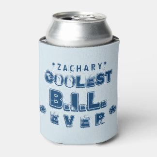 最も涼しい義理の兄弟のグランジな文字B07 缶クーラー