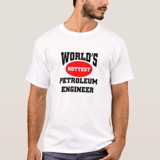最も熱い石油エンジニア Tシャツ