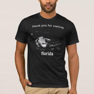 最も珍しいフロリダの休暇の記念品のTシャツ Tシャツ