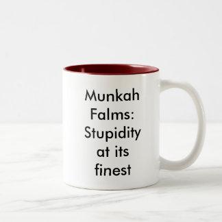 最も素晴らしいの愚かさ(マグ) ツートーンマグカップ
