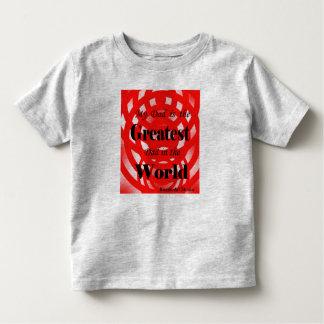 最も素晴らしいパパの幼児のワイシャツ トドラーTシャツ