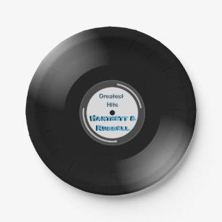 最も素晴らしい衝突ビニールの紙皿 ペーパープレート