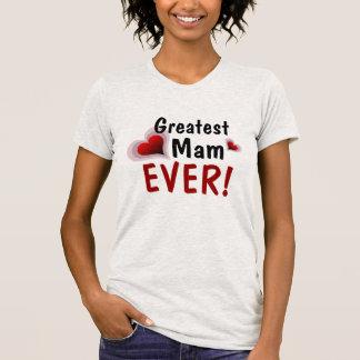 最も素晴らしいMam! -カスタマイズ可能 Tシャツ
