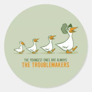 最も若い物は厄介者常にです ラウンドシール