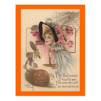 最も親愛なヴィンテージハロウィン ポストカード