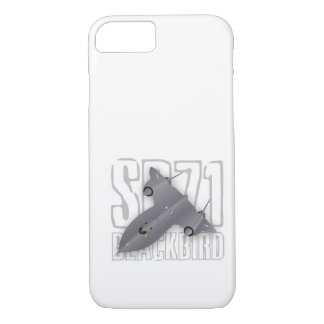 最も速い超音速偵察機: SR-71クロドリ iPhone 8/7ケース
