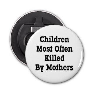 最も頻繁に母によって殺される子供 栓抜き