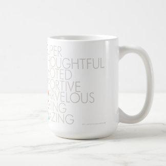 最上級の義母のマグ コーヒーマグカップ