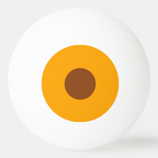 最低ランクのピンポン球-オレンジおよびサドルブラウン 卓球ボール