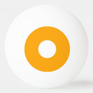 最低ランクのピンポン球-オレンジおよび白 卓球ボール
