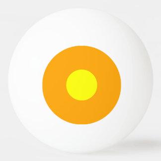最低ランクのピンポン球-オレンジおよび黄色 卓球ボール