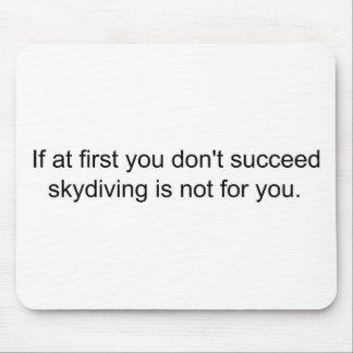 最初にあなたで................成功してはいけない マウスパッド