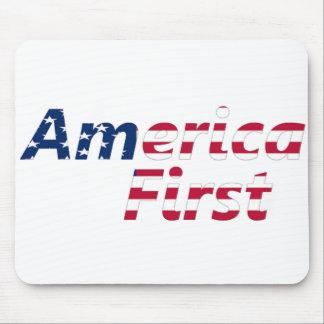 最初にアメリカ マウスパッド