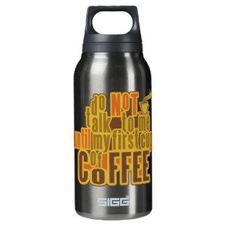 最初にコーヒー 断熱ウォーターボトル