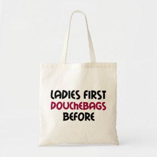 最初に女性 トートバッグ