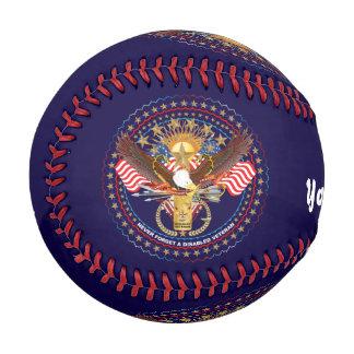 最初に野球の退役傷病軍人の捧げ物ピッチ4 野球ボール