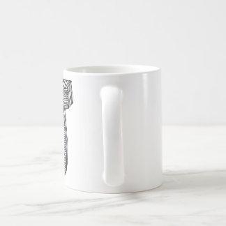 最初のマグ-手紙「J コーヒーマグカップ