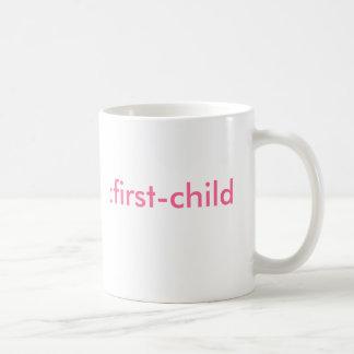 : 最初の子供(それは女の子はです) コーヒーマグカップ