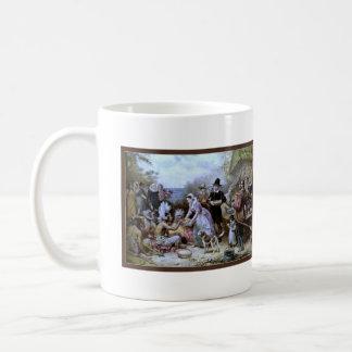 最初の感謝祭: ジーンルイFerrisのマグ コーヒーマグカップ